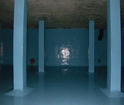 泉浄水所第1配水池耐震工事
