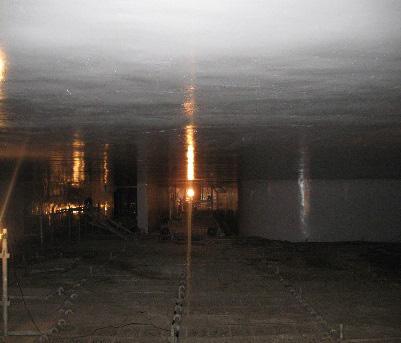 加古川下流浄化センター第1流入渠防食工事