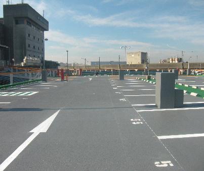 中央卸売市場駐車場防水修繕工事